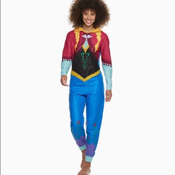 Disney's Frozen Women's Anna One-Piece Pajamas